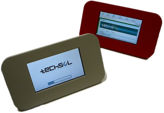 Touch-Panel Computer with 4.3-inch, color TFT LCD and POE